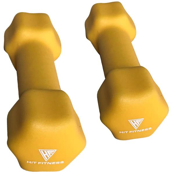 HIT Fitness Neoprene Studio Dumbbells