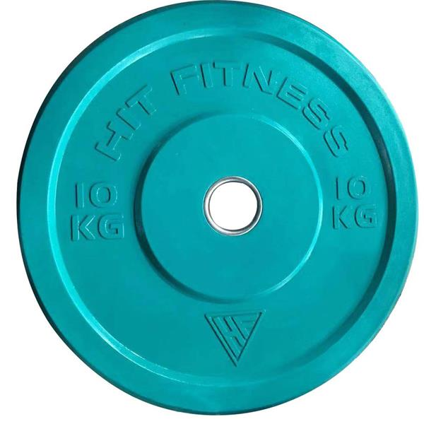 HIT FITNESS Bumper Plate | Colour - Home Use