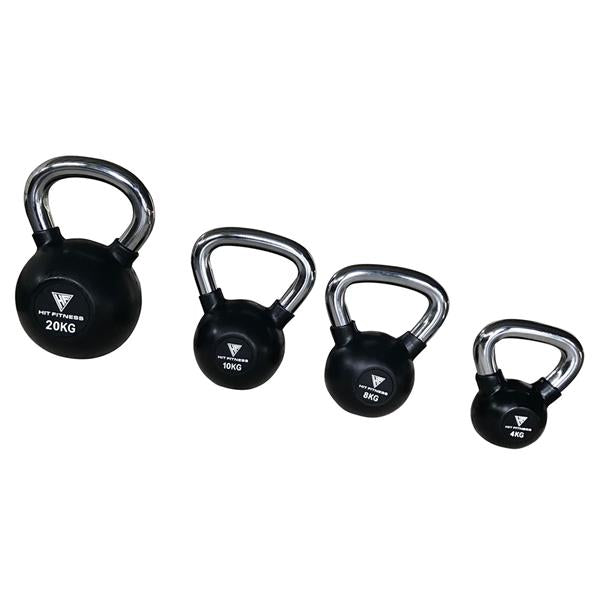Kettlebell with Chrome Handle | 10KG