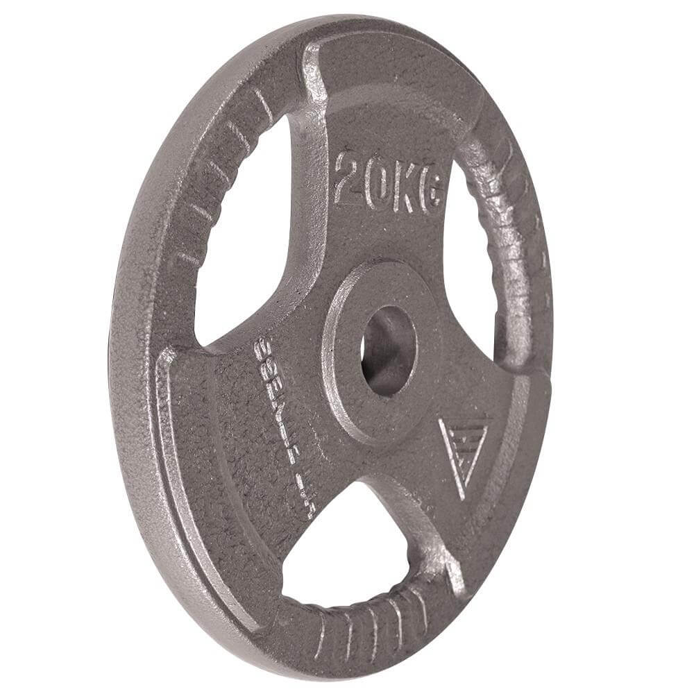 Hit Fitness Olympic Cast Iron Tri-Grip Disc | 20kg