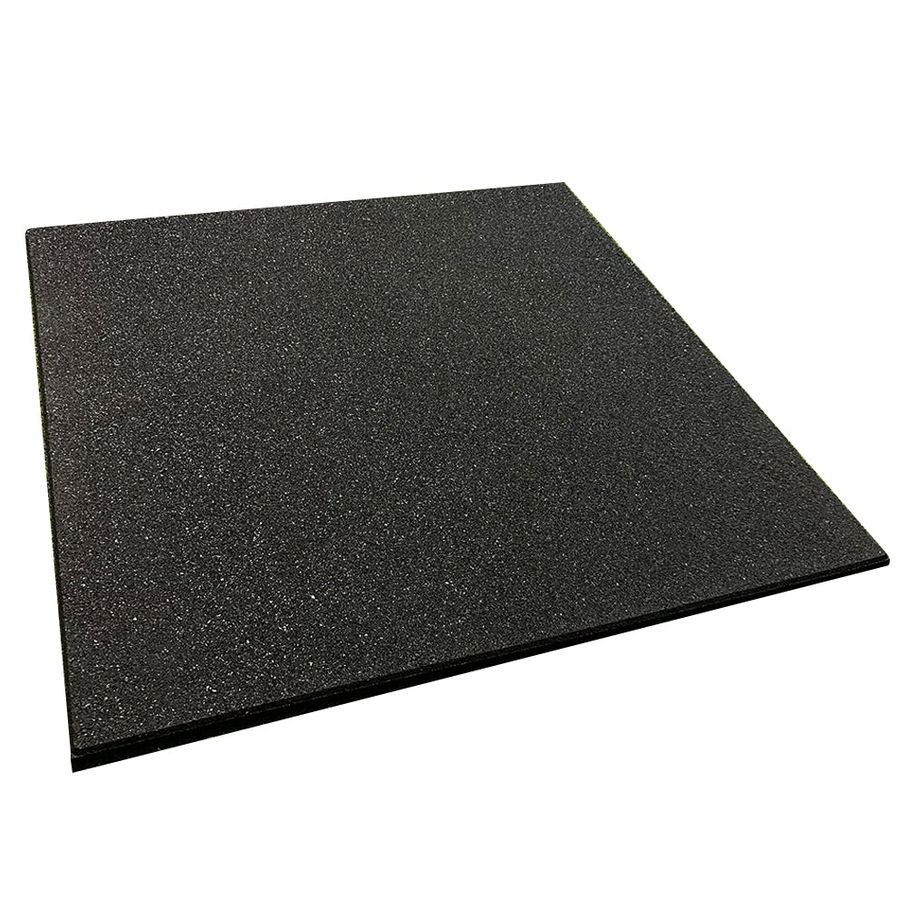 Hit Fitness Rubber Flooring Tile | 1M x 1M x 15MM