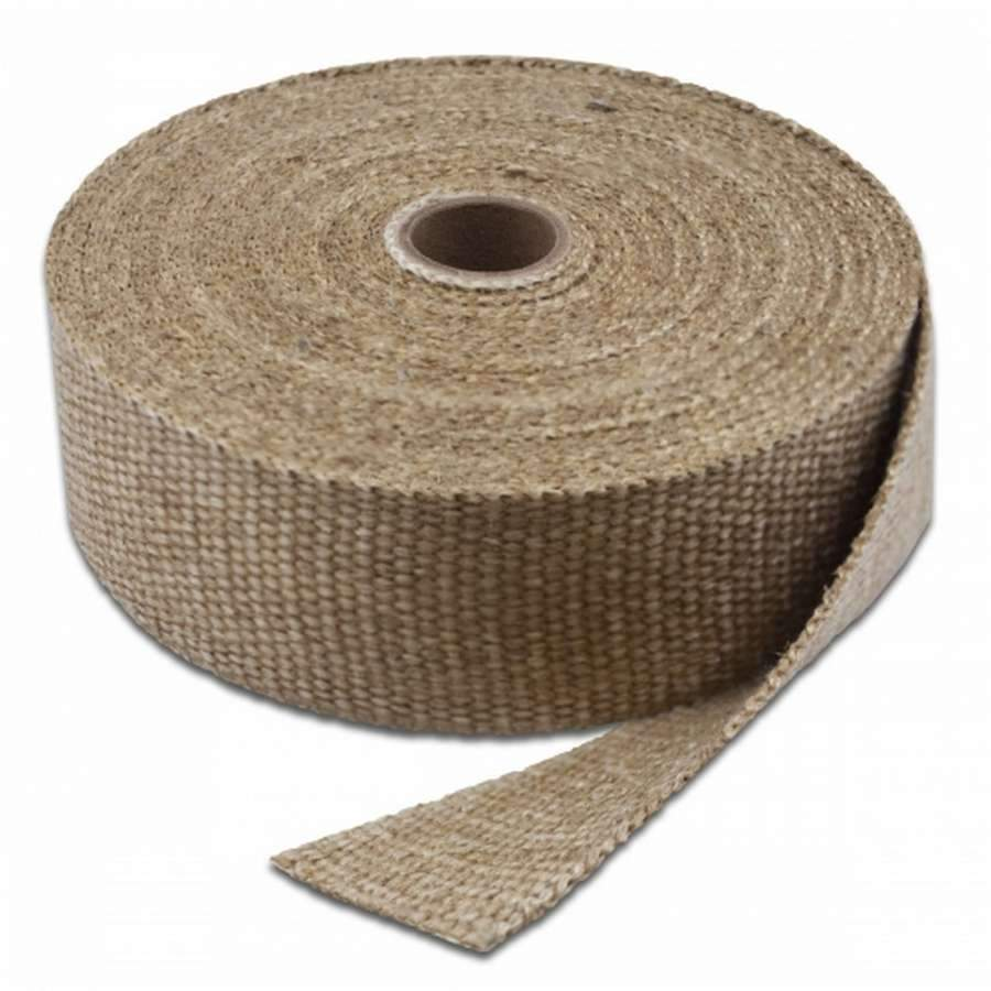 "Thermo-Tec 11002-25 Exhaust Wrap Natural 2"" X 25'"