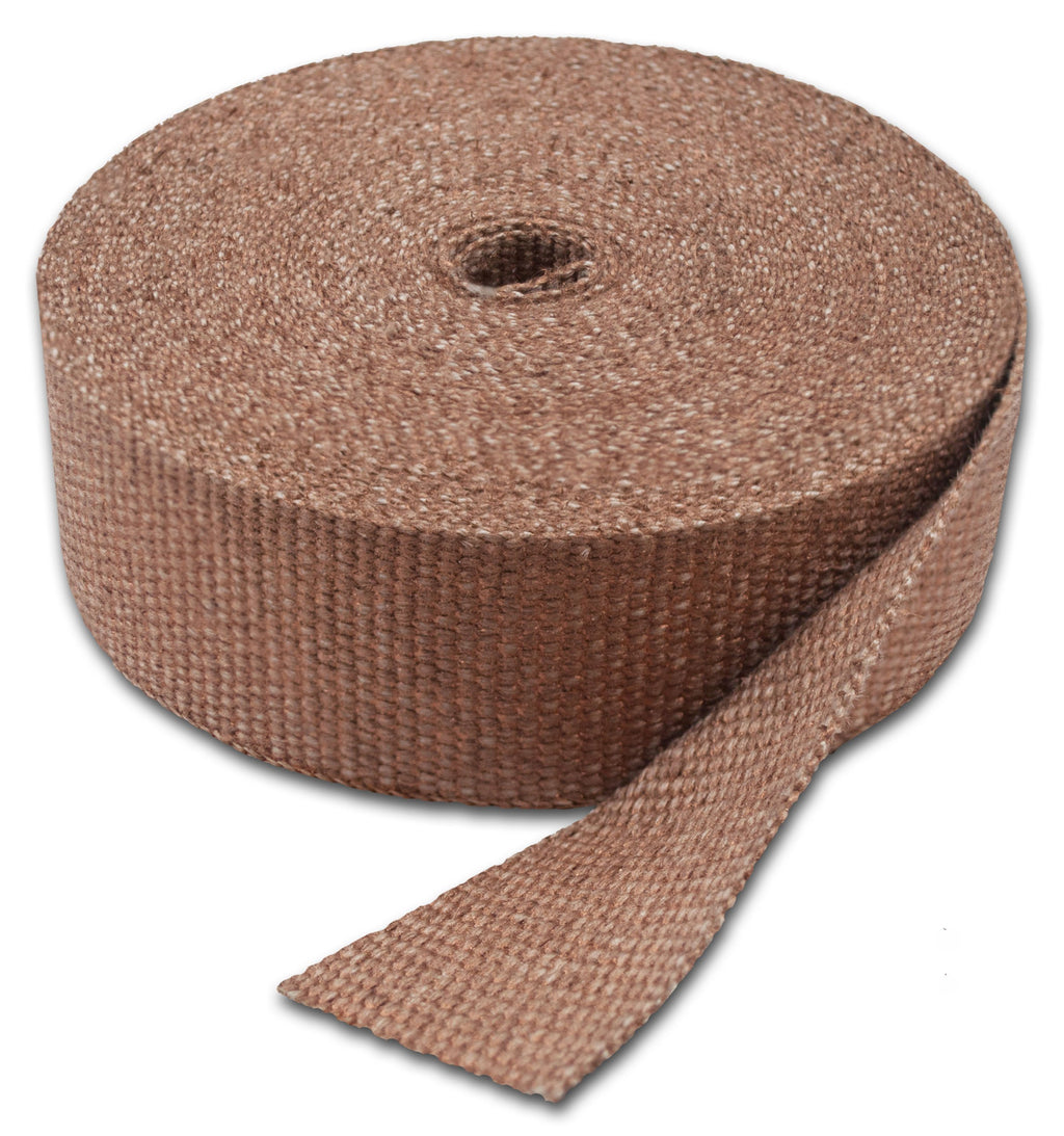 "Thermo-Tec 11032 Exhaust Wrap Copper Header Wraps 2"" X 50'"