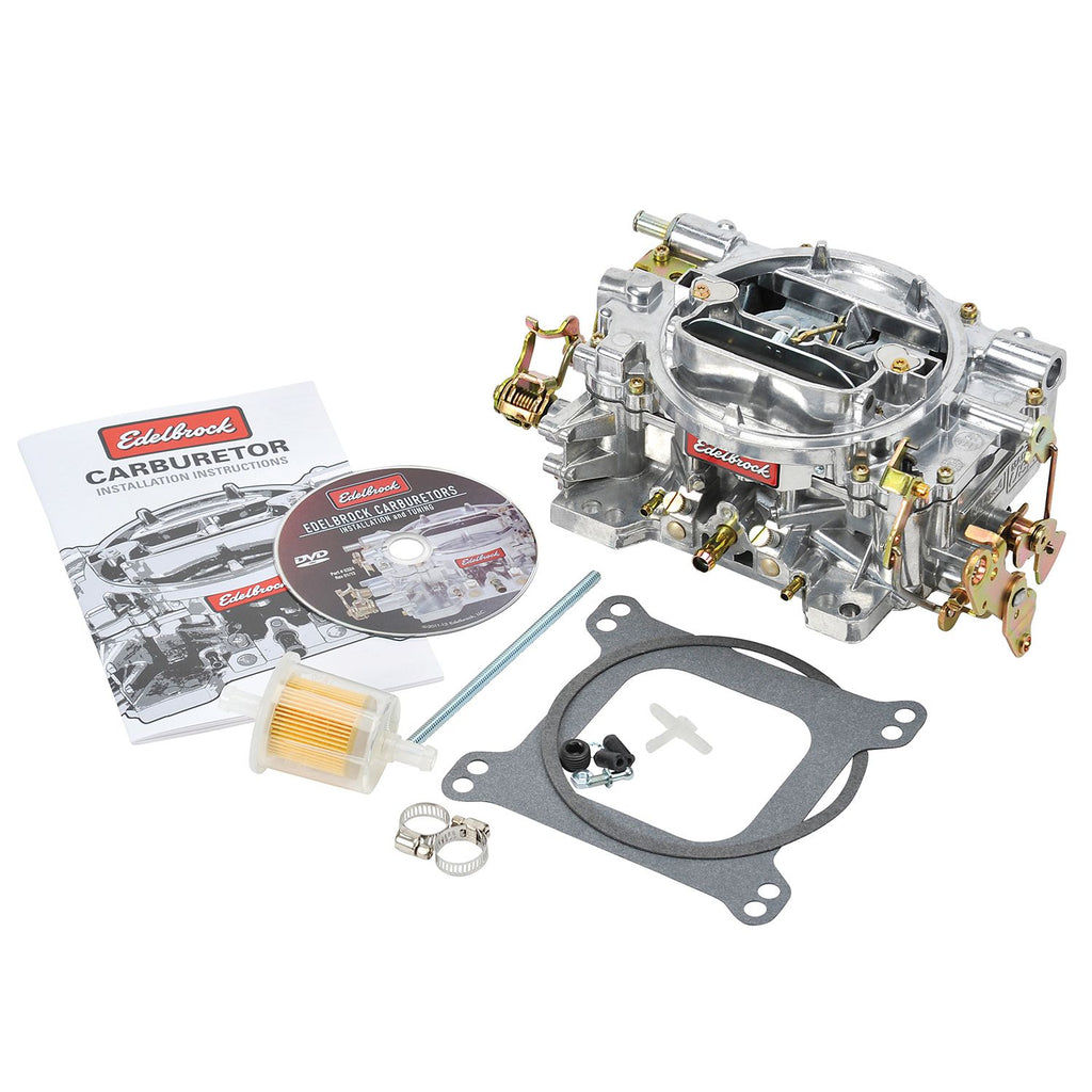 Edelbrock 1405 Performer Series Carburetor Manual Choke 600 CFM