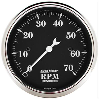 Autometer 1798 Old Tyme Black, Tachometer, 3-1/8 in.
