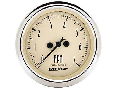 Autometer 1897 Antique Beige, Tachometer, 2-1/16 in.