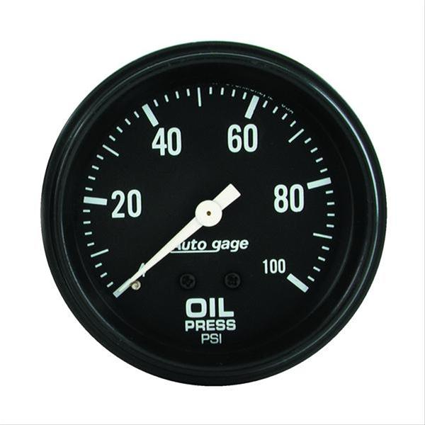 Autometer 2312 Autogage Oil pressure, 2-5/8 in.