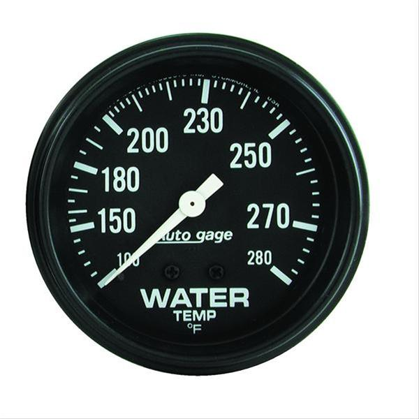 Autometer 2313 Autogage Water temperature, 2-5/8 in.