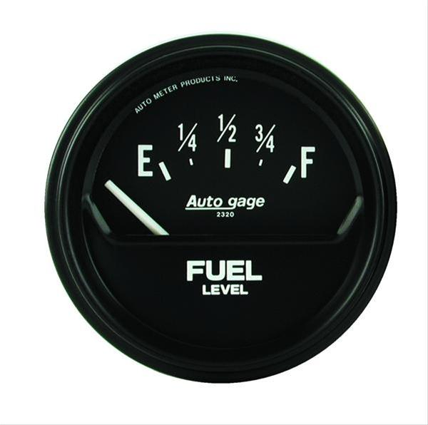Autometer 2316 Autogage Fuel level, 2-5/8 in.