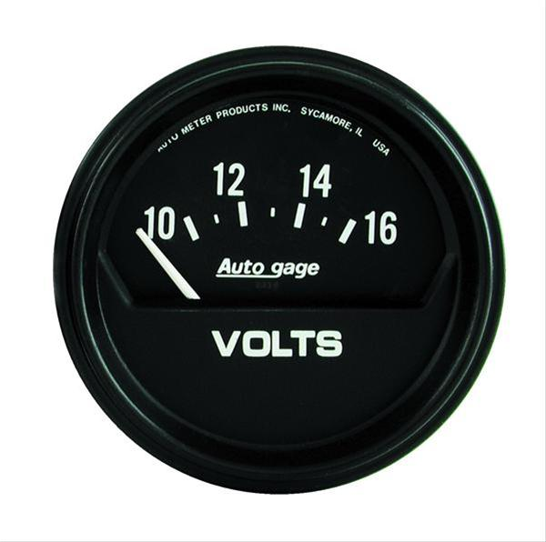 Autometer 2319 Autogage Voltmeter, 2-5/8 in.