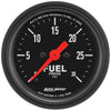 Autometer 2660 Z-Series Fuel pressure Gauge, 2-1/16 in., Electrical