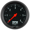 Autometer 2695 Z-Series Tachometer Gauge, 3-3/8 in., Electrical