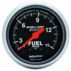 Autometer 3313 Sport-Comp Fuel pressure Gauge  2-1/16 in., Mechanical