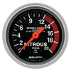 Autometer 3328 Sport-Comp Nitrous pressure Gauge 2-1/16 in., Mechanical