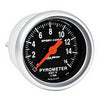 Autometer 3344 Sport-Comp EGT/Pyrometer Gauge 2-1/16 in., Electrical