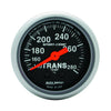 Autometer 3351 Sport-Comp Transmission Temperature Gauge  2-1/16 in., Electrical
