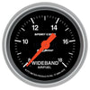 Autometer 3370 Sport-Comp Air/Fuel ratio Gauge 2-1/16 in., Electrical