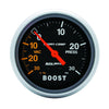Autometer 3403 Sport-Comp Vac/Boost, Gauge 2-5/8 in., Mechanical