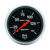 Autometer 3423 Sport-Comp Oil Pressure Gauge, 2-5/8 in., Mechanical