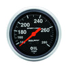 Autometer 3441 Sport-Comp Oil Temp Gauge, 2-5/8 in., Mechanical