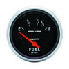 Autometer 3518 Sport-Comp Fuel Level Gauge, 2-5/8 in., Electrical