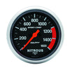 Autometer 3574 Sport-Comp Nitrous Press Gauge, 2-5/8 in., Electrical