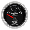 Autometer 3618 Sport-Comp II Fuel Level Gauge, 2-1/16 in., Electrical