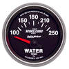 Autometer 3637 Sport-Comp II Water Temperature Gauge, 2-1/16 in., Electrical