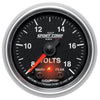 Autometer 3683 Sport-Comp II Voltmeter Gauge, 2-1/16 in., Electrical