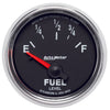 Autometer 3813 GS Series Fuel level gauge, 2-1/16 in., Electrical