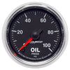 Autometer 3853 GS Series Oil pressure gauge, 2-1/16 in., Electrical
