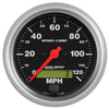 Autometer 3987 Sport-Comp Speedometer Gauge, 3-3/8 in., Electrical