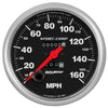 Autometer 3995 Sport-Comp Speedometer Gauge, 5 in., Mechanical