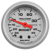 Autometer 4308 Ultra-Lite Vacuum/Boost Gauge  2-1/16 in., Mechanical