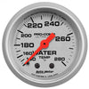 Autometer 4331 Ultra-Lite Water Temperature Gauge 2-1/16 in., Mechanical