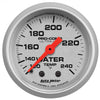 Autometer 4333 Ultra-Lite Water Temperature Gauge 2-1/16 in., Mechanical