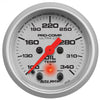 Autometer 4340 Ultra-Lite Oil Temperature Gauge 2-1/16 in., Electrical