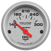 Autometer 4348 Ultra-Lite Oil Temperature Gauge 2-1/16 in., Electrical