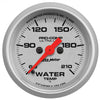 Autometer 4369 Ultra-Lite Water Temperature Gauge 2-1/16 in., Electrical