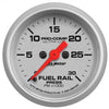 Autometer 4386 Ultra-Lite Fuel Rail pressure Gauge  2-1/16 in., Electrical