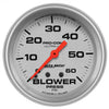 Autometer 4402 Ultra-Lite Blower Pressure Gauge 2-5/8 in., Mechanical