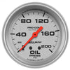 Autometer 4422 Ultra-Lite Oil pressure Gauge 2-5/8 in., Mechanical