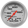 Autometer 4432 Ultra-Lite Water Temperature Gauge 2-5/8 in., Mechanical