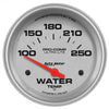 Autometer 4437 Ultra-Lite Water Temperature Gauge 2-5/8 in., Electrical
