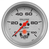 Autometer 4472 Ultra-Lite Fuel pressure Gauge 2-5/8 in., Electrical