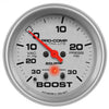 Autometer 4477 Ultra-Lite Vacuum/Boost Gauge  2-5/8 in., Electrical