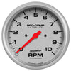 Autometer 4498 Ultra-Lite Tachometer Gauge 5 in., Electrical