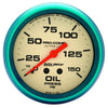 Autometer 4523 Ultra-Nite Oil pressure Gauge, 2-5/8 in., Mechanical
