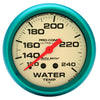 Autometer 4532 Ultra-Nite Water Temperature Gauge, 2-5/8 in., Mechanical