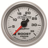 Autometer 4904 Ultra-Lite II Boost Pressure gauge 2-1/16 in., Mechanical